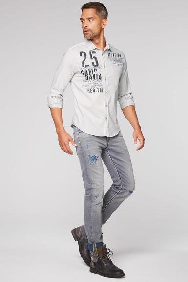 Košile CCG-2009-5342 silvery|XXXL - 2
