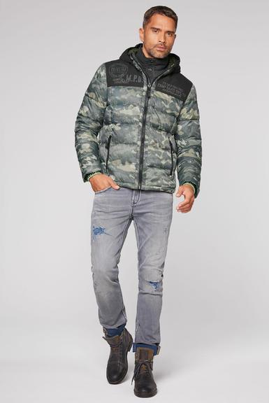 Péřová bunda CCG-2055-2362 khaki|XL - 2