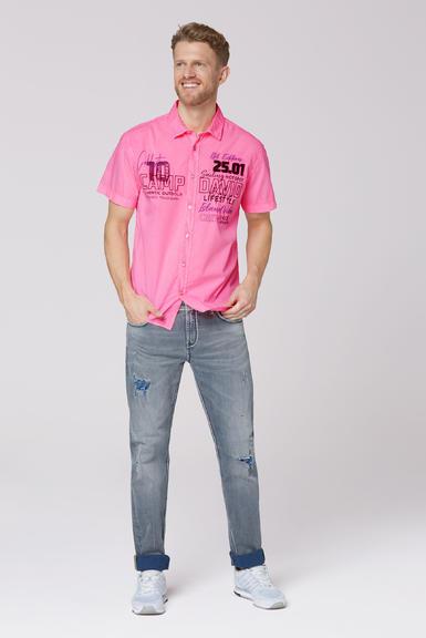 Košile CCU-2000-5548 neon pink|XXL - 2