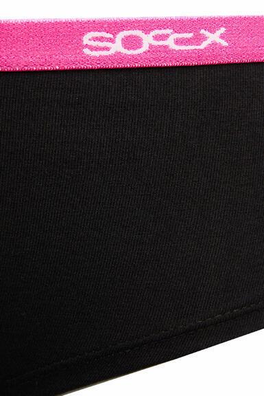 Kalhotky SCU-9999-8894 black-pink|XL - 2
