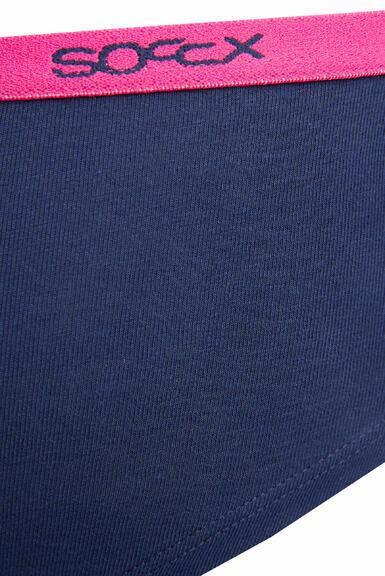 Kalhotky SCU-9999-8894 light grey-navy|XL - 2