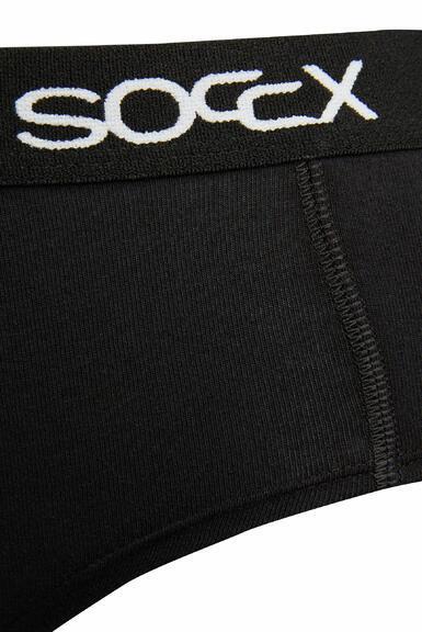 Kalhotky SCU-9999-8895 black-white|L - 2