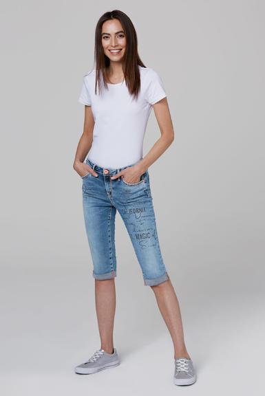 Džínové 3/4 kalhoty SDU-2000-1870 medium blue|28 - 2