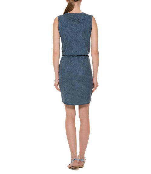 Tmavě modré šaty|M - 2