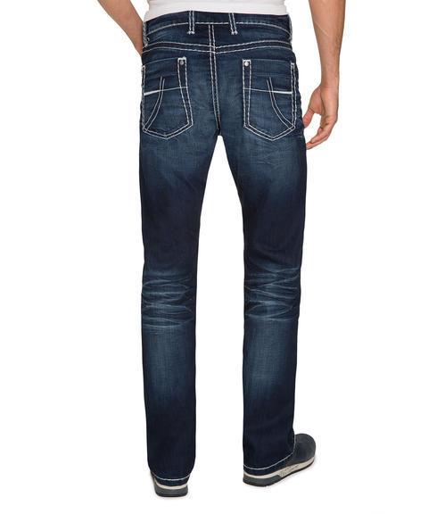 Tmavě modré džíny 999-6406 34 - 2