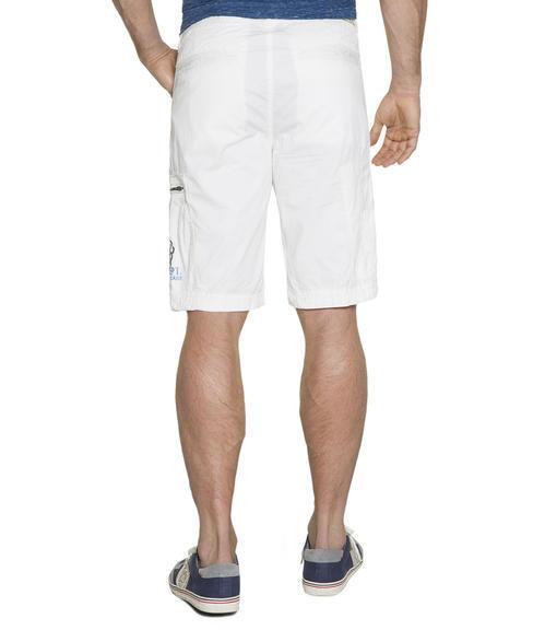 Bílé kraťasy s kapsami na zip|XXXL - 2