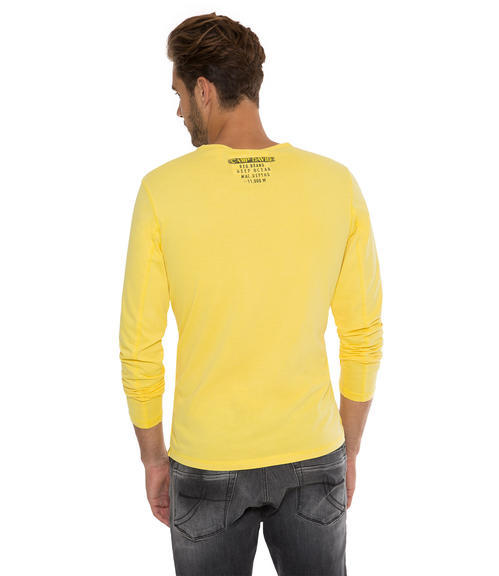 Tričko CCB-1709-3738 industrial yellow|L - 2