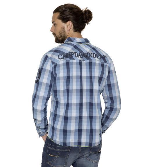 Košile CCB-1709-5751 indigo|S - 2