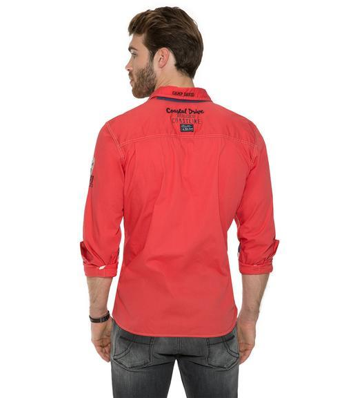 Košile Regular Hemd CCB-1803-5398 red sky|M - 2