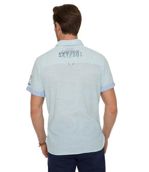 košile CCB-1804-5418 old aqua|XXL - 2
