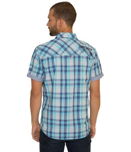 košile chec CCB-1804-5419 old aqua|L - 2