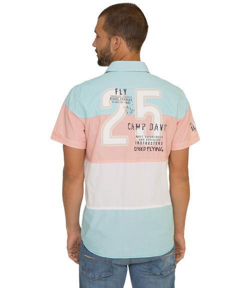 košile 1/2 CCB-1804-5420 old aqua|XXL - 2
