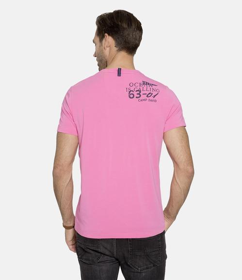 tričko - CCB-1901-3086 deep pink|M - 2