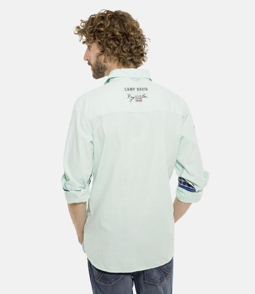 Košile CCB-1901-5098 mint leaf|S - 2