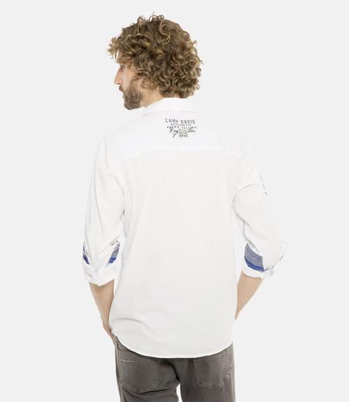 Košile CCB-1901-5098 optic white|XXXL - 2