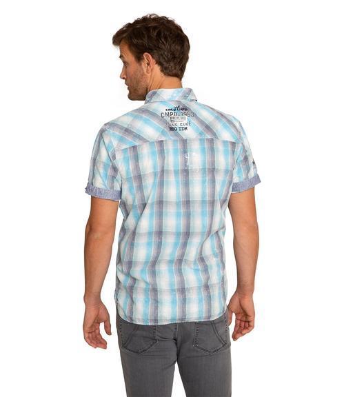 Košile CCB-1904-5378 summer aqua|S - 2