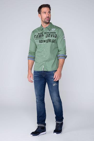 Košile CCB-1909-5030 Ocean Green|S - 2