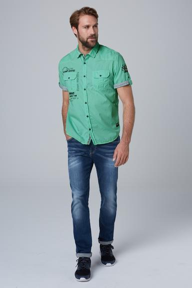 Košile CCB-1912-5429 azure|S - 2