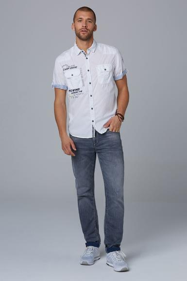 Košile CCB-1912-5429 opticwhite|M - 2
