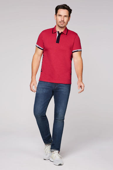 Polotričko CCB-2008-3298 Bright Red|XXL - 2