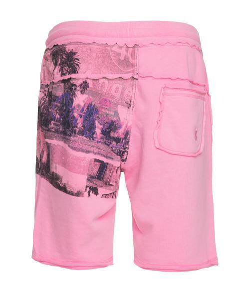 kraťasy CCD-1805-1482 neon pink|XXL - 2