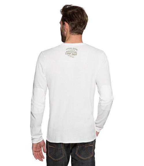 Vzdušný bílý svetr|M - 2