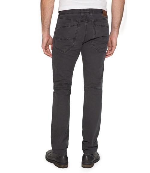 tmavě hnědé kalhoty|34 - 2