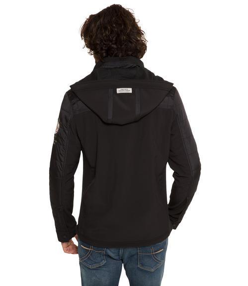 černá softshellová bunda|M - 2