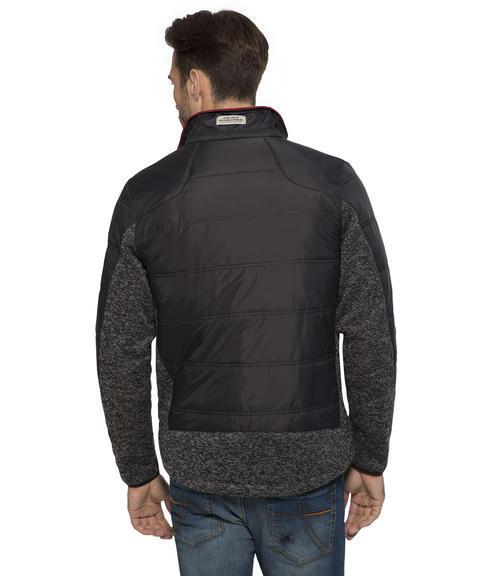 černá mikinová bunda|M - 2