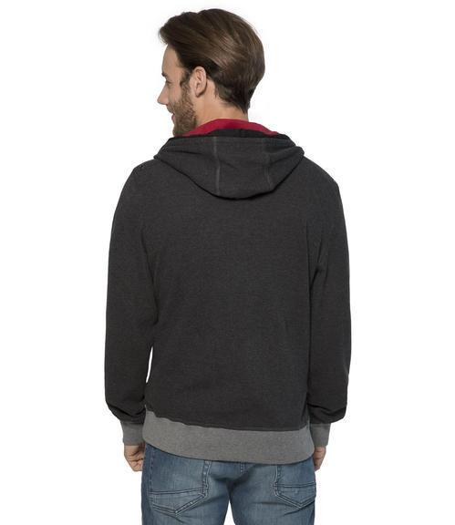 černá mikina s kapucí|XXXL - 2