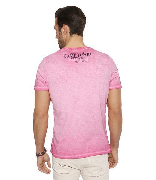 Tričko CCU-1855-3595 deep pink|XXL - 2