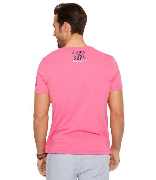 Tričko CCU-1855-3596 deep pink|XXL - 2
