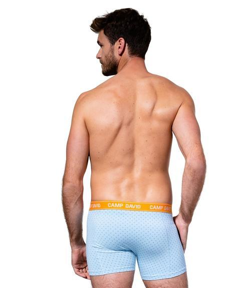 Boxerky CCU-1955-8367 powder blue|M - 2