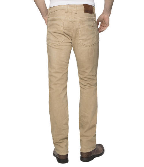 L34 Džíny Regular Fit CDU-9999-1630 Beige|32 - 2