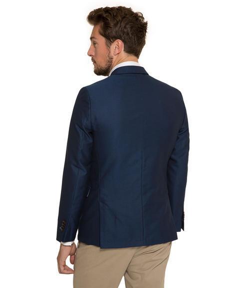 Tmavě modré dvouřadé sako|50 - 2