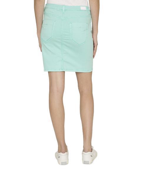 Džínová sukně SDU-1900-7392 soft green S - 2