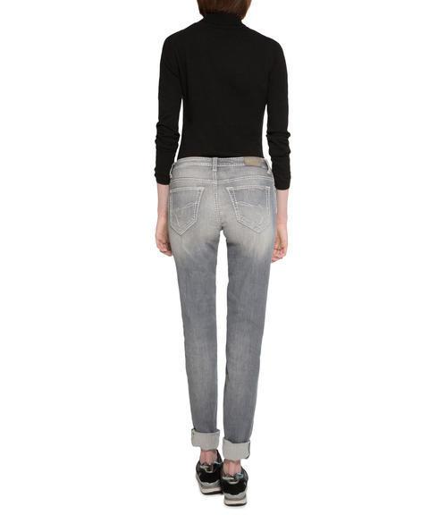 Světlé džíny se sepraným efektem|31 - 2