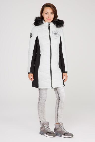 Kabát SP2155-2299-31 ivory|M - 2