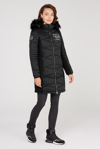 Kabát SP2155-2299-32 black|M - 2