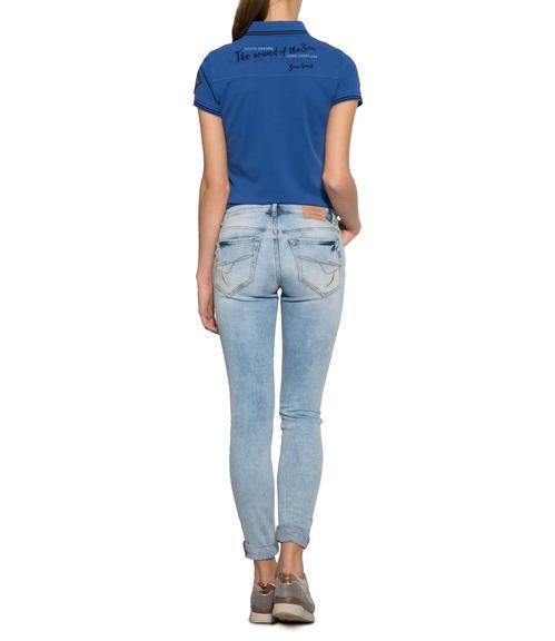 Sportovní modré polo tričko|S - 2
