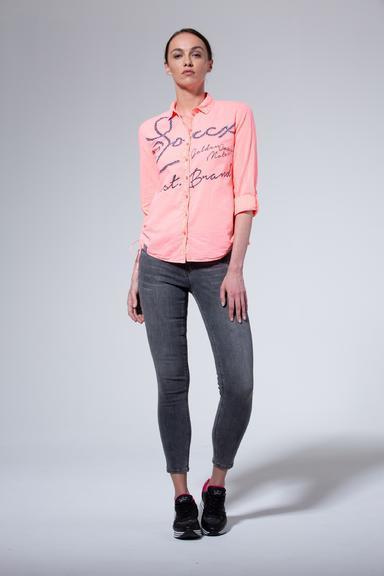 Košile SPI-1906-5862 Neon Coral|S - 2