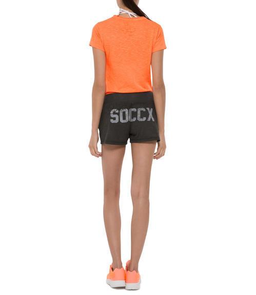 oranžové tričko Soccx on the Beach XL - 2