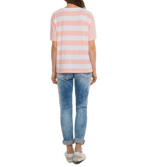 Růžové tričko happy sunshine|M - 2