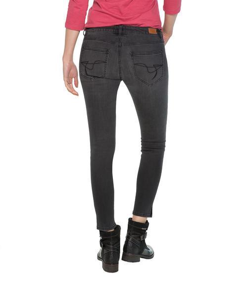 Slim Fit Jeans STO-1709-1680 dark grey used|26 - 2