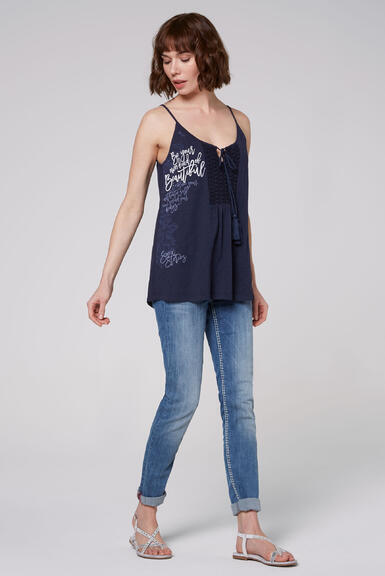 Top STO-2004-3840 moroccan blue|S - 2