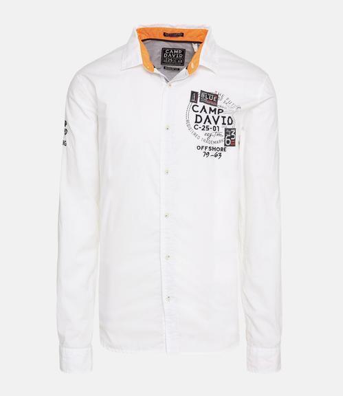 košile CCB-1811-5082 optic white|XL - 2