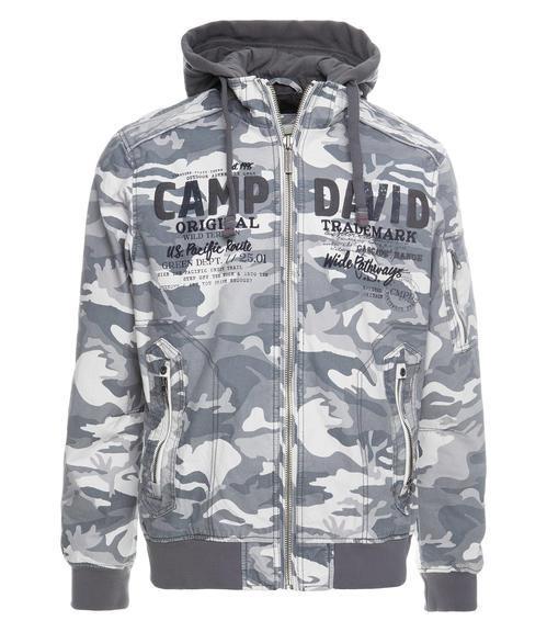 Bunda CCG-1900-2061 grey camouflage|L - 2
