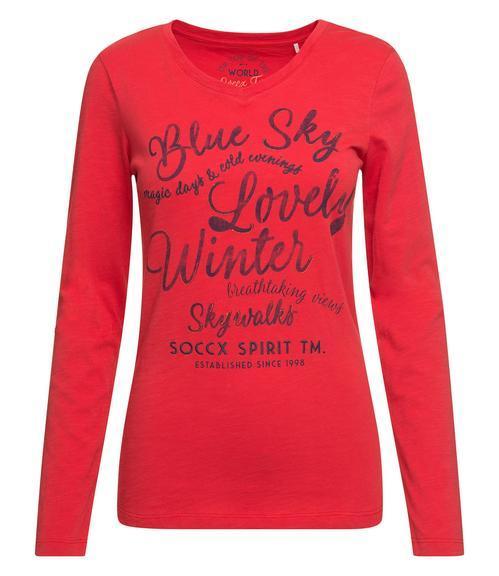 Tričko SPI-1809-3900  creamy red|XS - 2