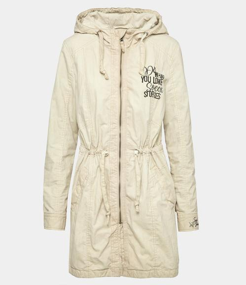 Parka STO-1812-2202 cold beige|XS - 2