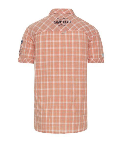 košile chec CCB-1804-5421 faded orange|XXXL - 2